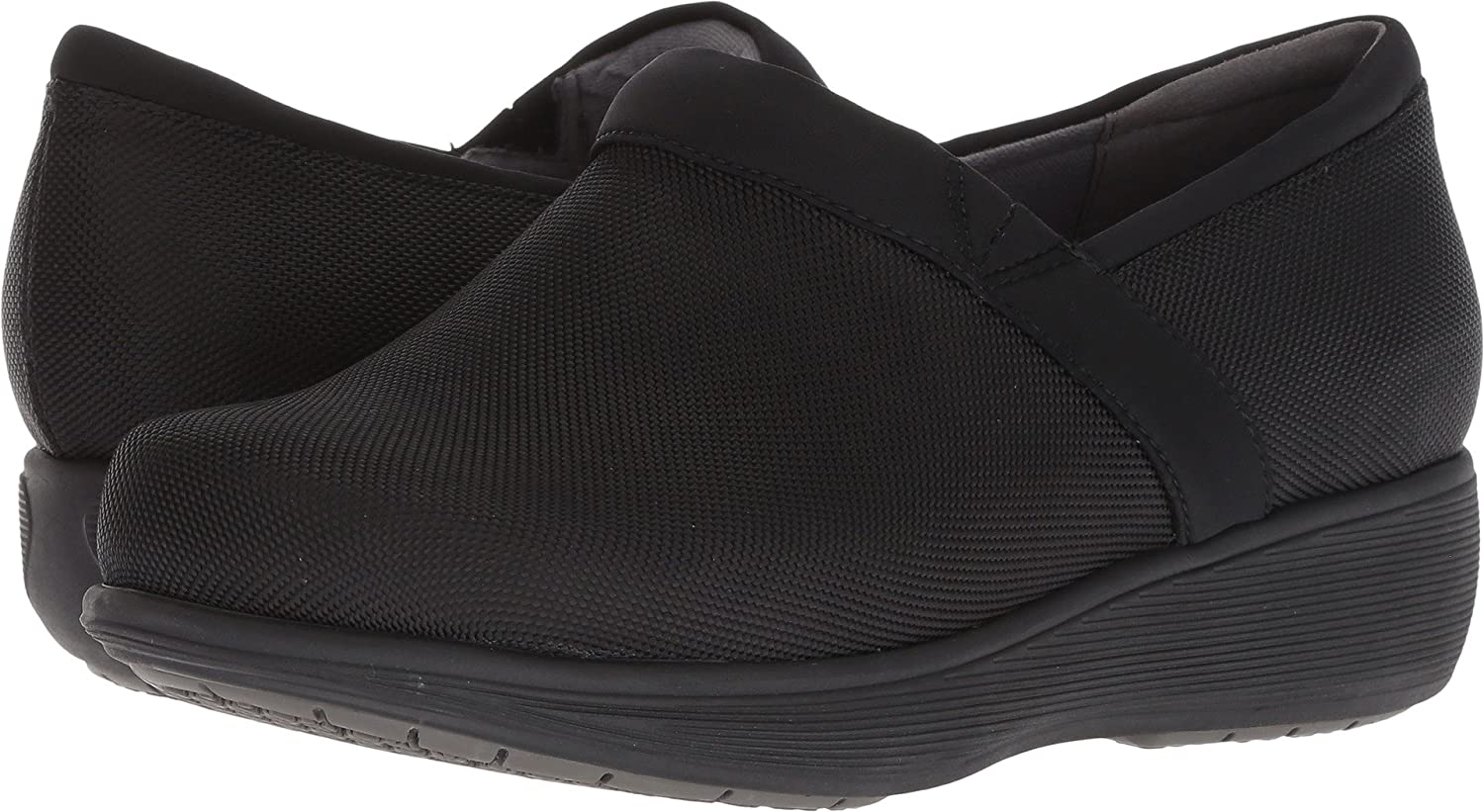 SoftWalk Women's Meredith Clog B07D7QTFVN 8 D US|Black Ballistic
