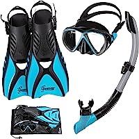 Seavenger Hanalei Anti-Fog 4-Piece Snorkeling Set