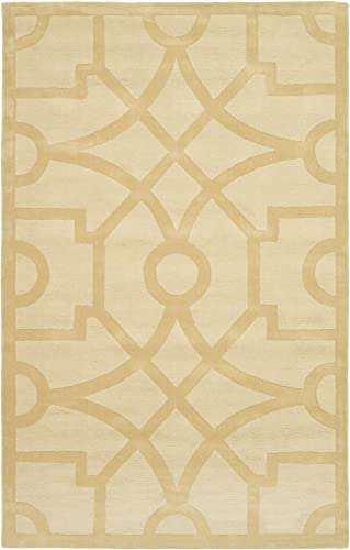 Safavieh Martha Stewart Collection MSR4612B Handmade Premium Wool Gravel Area Rug 5' x 8'