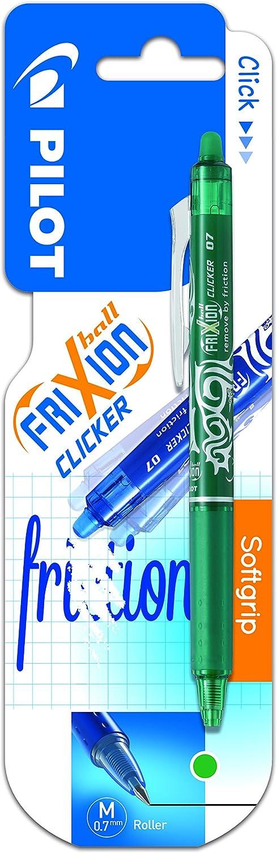 Pilot Spain Frixion Clicker/ /Penna con inchiostro gel tratto medio Verde