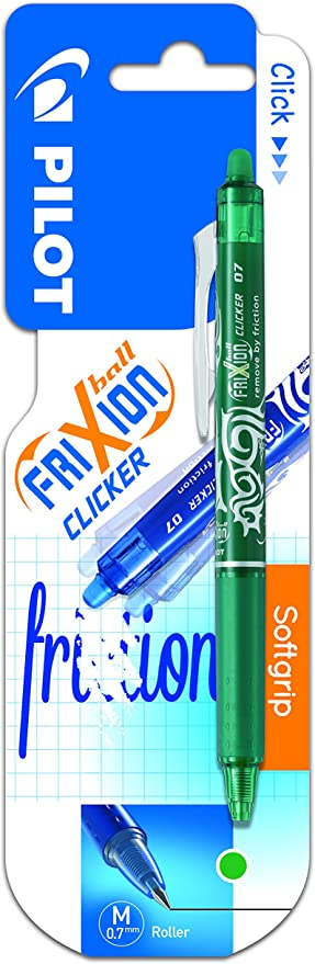 Pilot Spain Frixion Clicker - Bolígrafo tinta de gel, punto medio ...