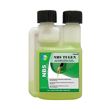 Tratamiento de biocida diésel NBS TULEN 100 ml para eliminar bacterias hongos hasta 1000 L