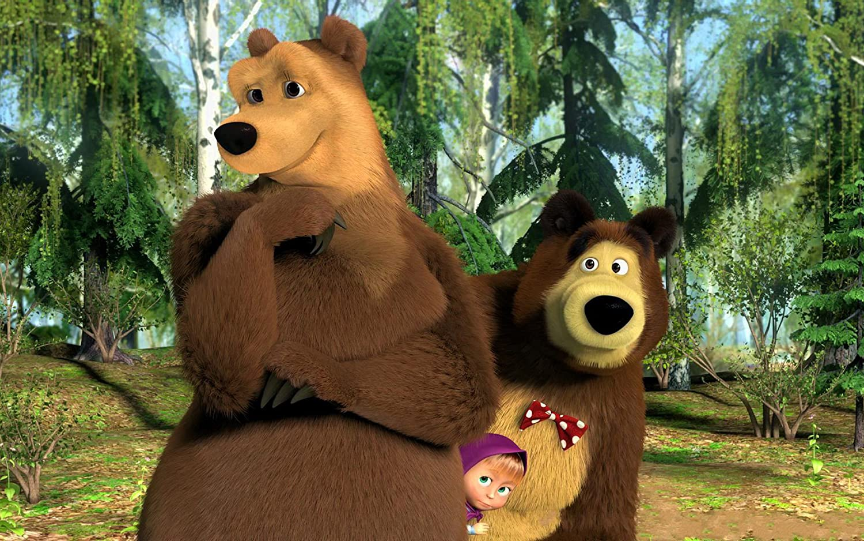 Posterhouzz Movie Masha And The Bear Hd Wallpaper Background