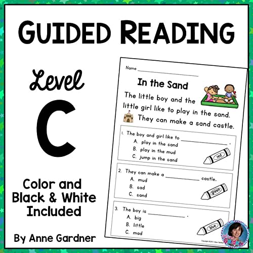 Kindergarten Reading Comprehension Passages And Questions For Guided Reading  Level C