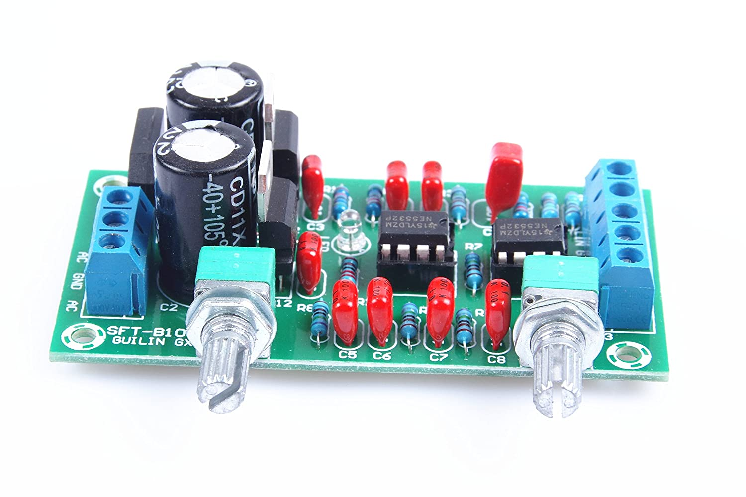 Subwoofer Filter Circuit Board Amplifiercircuitscom T 32w Hi Fi Audio Amplifier With Tda2050 Diagram Amazoncom Knacro Ne5532 Low Pass Preamp Cannon Pitch Home Theater