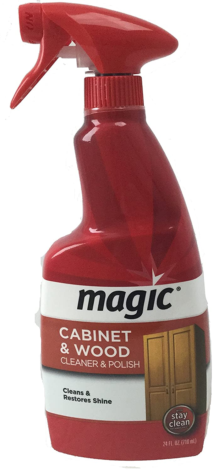 Cabinet Magic Cleaner Amazoncom Magic Cabinet And Wood Cleaner Spray 24 Fl Oz Home