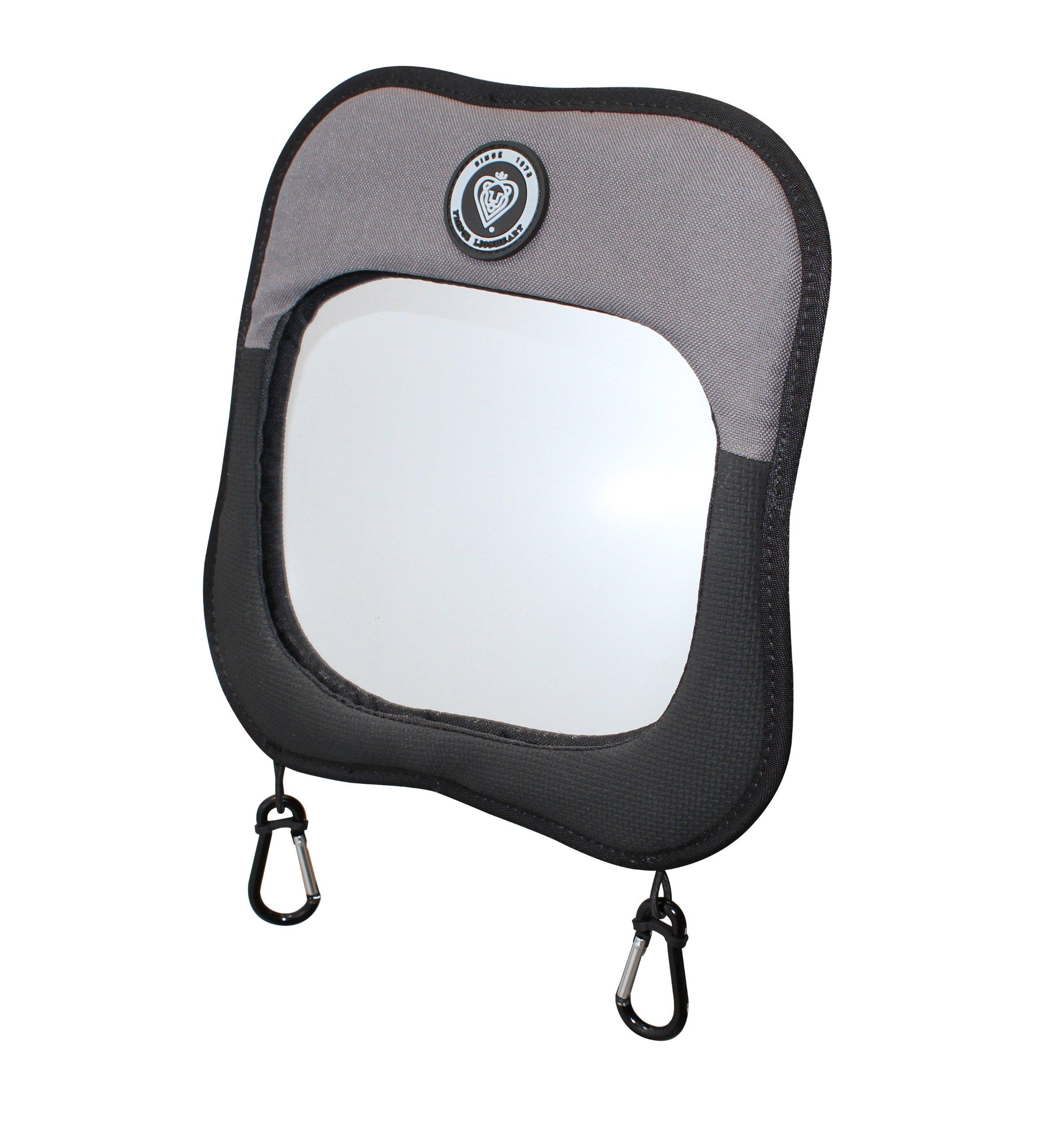 Prince Lionheart Child View Mirror, Black by Prince Lionheart