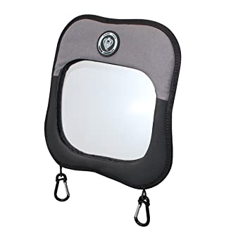 Grey Child View Mirror Black For Rear Facing Seat Prince Lionheart Baby