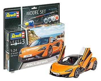 Revell Maqueta de Auto 1: 24 – McLaren 570s en escala 1: 24,