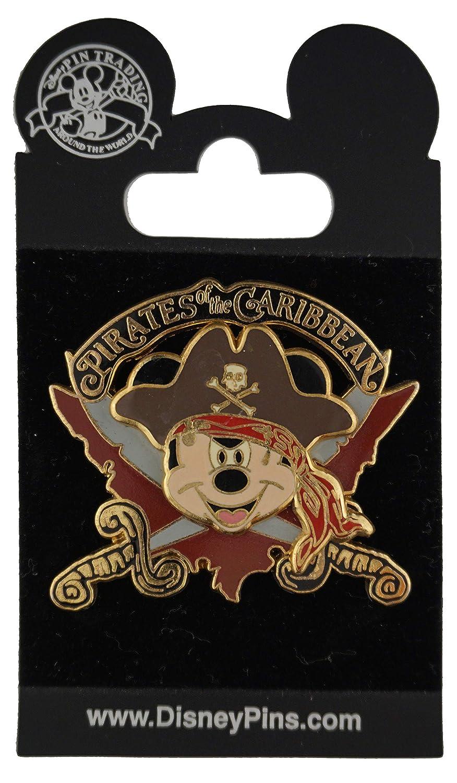 Disney Pin - Pirates of the Caribbean - Mickey Mouse Logo