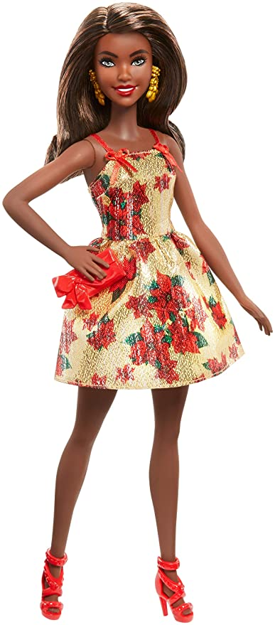 Barbie African American Holiday 2018 Doll by Barbie
