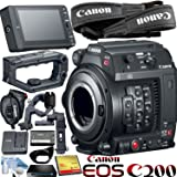 Canon EOS C200 EF Cinema Camera Bundle