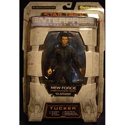 Commander Charles Tucker Figure Star Trek Enterprise Broken Bow: Toys & Games