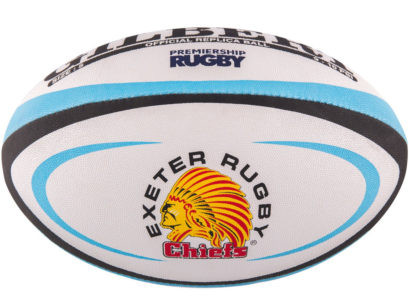GILBERT Ballon de rugby REPLICA - Exeter - Taille Mini 5024686286867