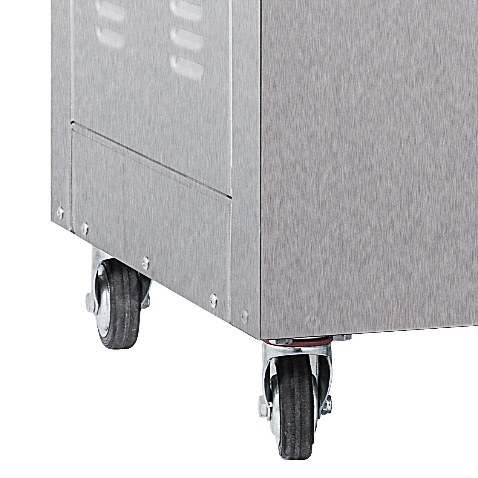 Happybuy DZ-400/2E Chamber Vacuum Sealer 1000W Vacuum Sealer Machine Automatic Vacuum Packing Sealing Sealer Machine for Home or Commercial Use (DZ-400/2E) by Happybuy (Image #6)