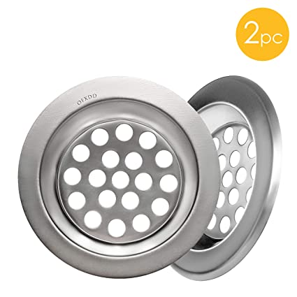 Shower Hair Catcher, Sink Strainer Small, Drain Protector, Sink Drain Catcher Metal 2.5