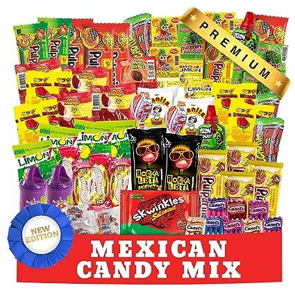 Bolsa surtida de caramelos mexicanos: Amazon.com: Grocery ...