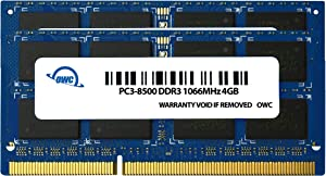 OWC 16.0GB (4 x4GB) PC8500 DDR3 1066 MHz 204 pin Memory Upgrade Kit for Apple iMac 21.5 inch and 27 inch Models, (OWC8566DDR3S16S)