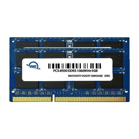 Owc Owc8566ddr3s8gp 2 Módulos De Memoria 2 X 4 Gb Ddr3 1066 Mhz