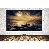 TabloCenter art244914283-6 Dev Boyut Manzara Kanvas Tablo, 100x140cm