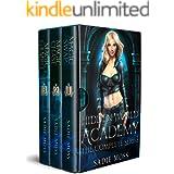 Hidden World Academy: Complete Series (Books 1-3): A Reverse Harem Paranormal Romance