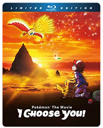Amazon Com Pokemon The Movie I Choose You Limited Edition Blu