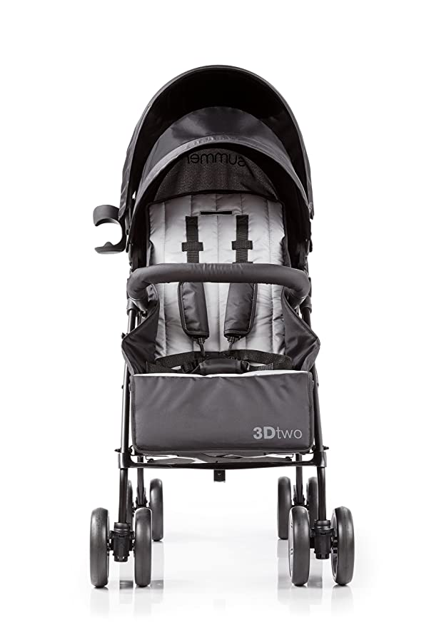 Summer Infant 3D Two Double Convenience Stroller, Gray ...