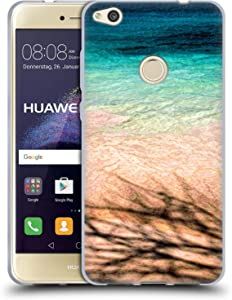 Head Case Designs Officially Licensed Catspaws Sea and Tree Nature & Colours Soft Gel Case Compatible with Huawei P8 Lite (2017)