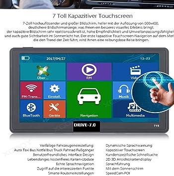 Navegador GPS de 7 pulgadas, sistema de navegación y tablet ...