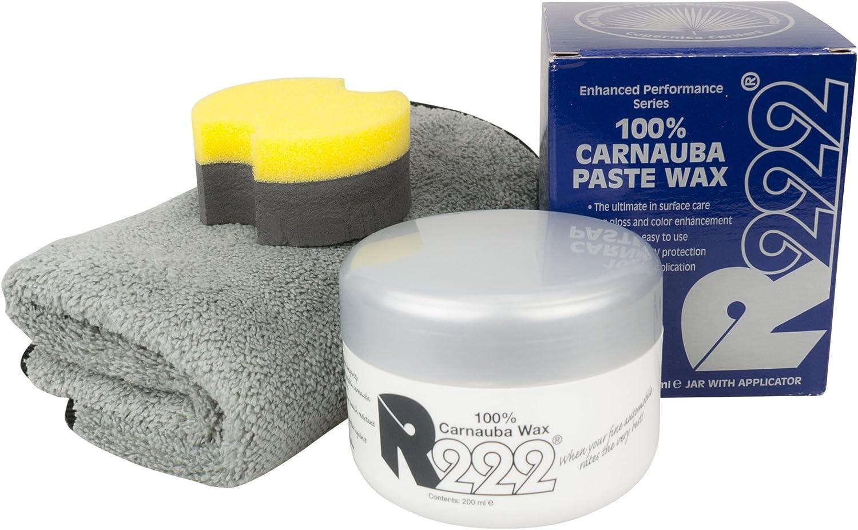R222 100 Carnauba Paste Wax Hartwachs 200ml Inkl Dft Microfasertuch Auto