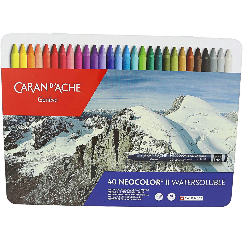 Caran D'Ache Neocolor Ii Artists' Crayons Pastel 7610186243400
