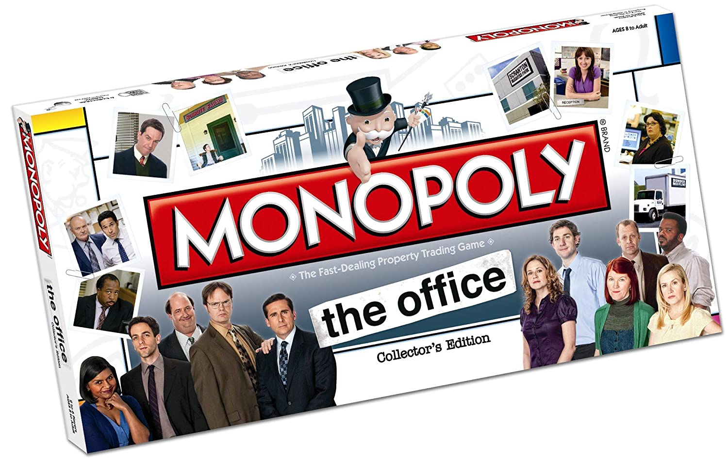 Amazon.com: Monopoly The Office: Toys & Games