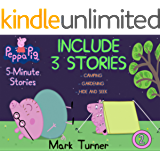 Peppa Pig 5 Minute Stories: Great 5-Minutes Stories Of Peppa Pig For Kids 2-4 Ages - Vol. 2 - Includes 3 Stories…
