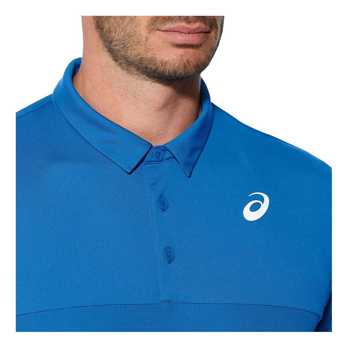 ASICS Padel Polo, Hombre, Azul (Imperial), XL: Amazon.es: Deportes y aire libre