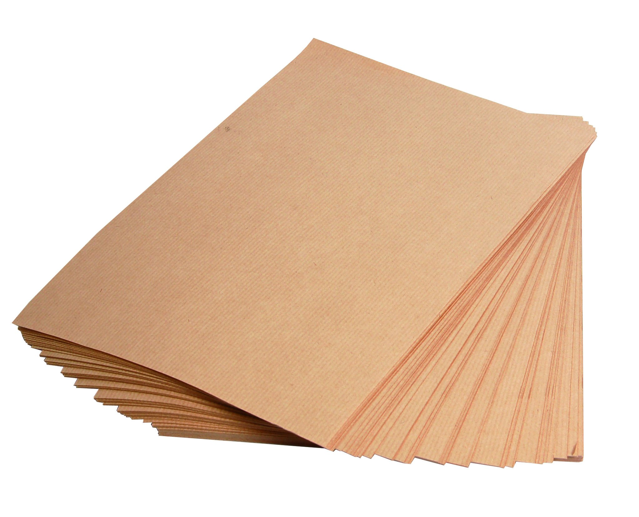 Clairefontaine Kraft Paper, 275 g, 70 x 100 cm - Brown, 25 Sheets by Clairefontaine