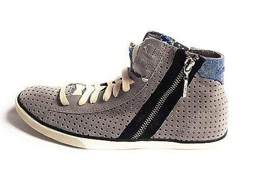 Diesel - Zapatillas de Deporte para Mujer Morado añil: Amazon.es: Zapatos y complementos