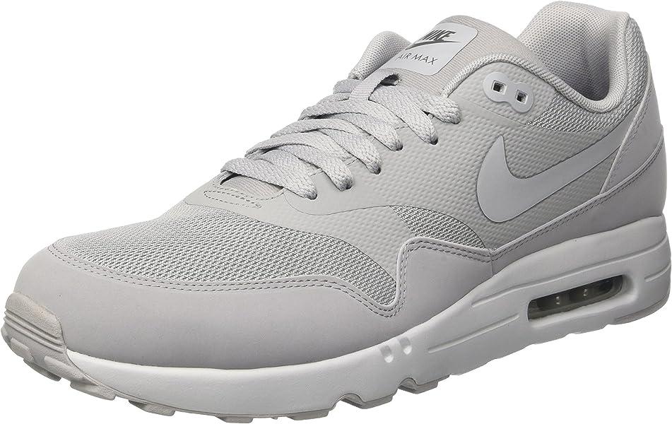 7636909c5a7a4 Nike Mens Air Max 1 Ultra 2.0 Essential Casual Shoes Gray 12 Medium (D)