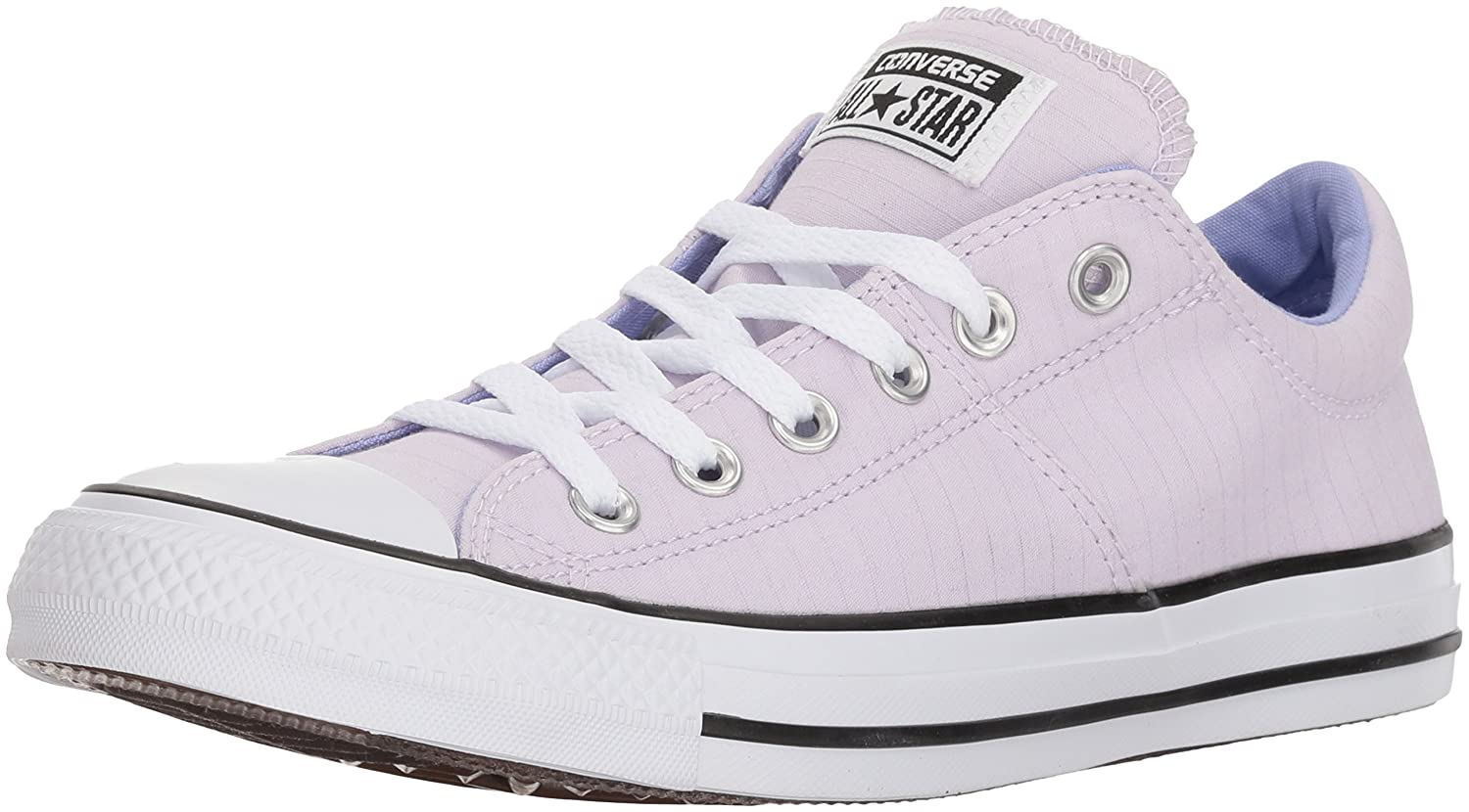 Converse Women's Madison Utility Chambray Low Top Sneaker B073C7KMRK 5.5 B(M) US|Barely Grape/Twilight Pulse