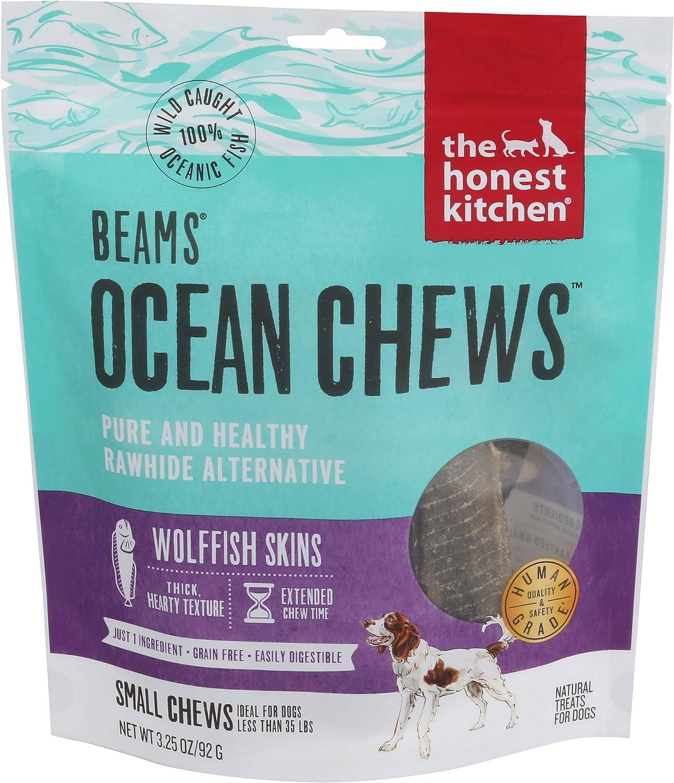 Honest Kitchen The, Dog Treats Icelandic Catfish Skin Sticks Small, 3.25 Ounce