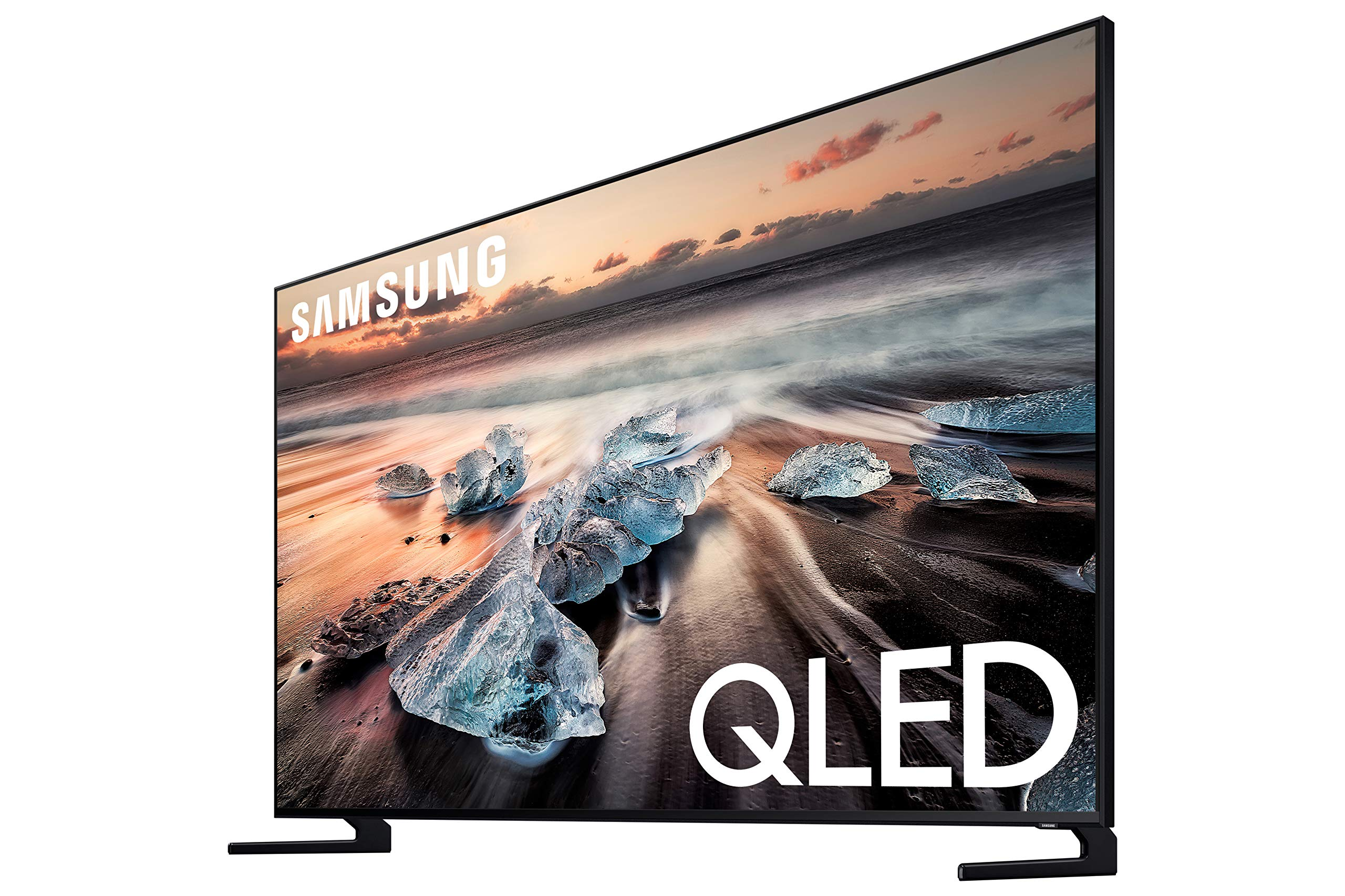 Samsung QN75Q900RBFXZA Flat 75-Inch QLED 8K Q900 Series Ultra HD Smart TV with HDR and Alexa Compatibility (2019 Model)