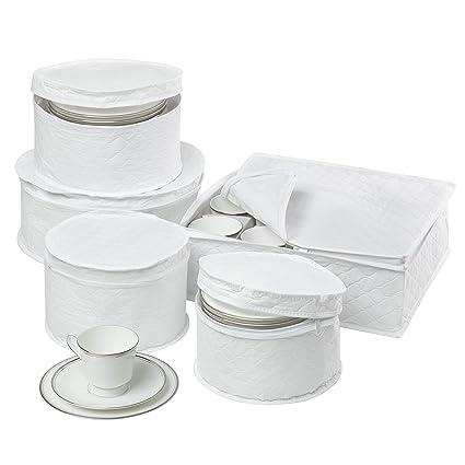 Honey-Can-Do SFT-01630 Dinnerware Storage Set 5-Piece  sc 1 st  Amazon.com & Amazon.com: Honey-Can-Do SFT-01630 Dinnerware Storage Set 5-Piece ...