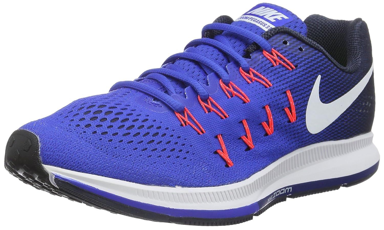 Nike Men's Air Zoom Pegasus 33 B019DFZYPI 9.5 D(M) US|Racer Blue/Navy/Blue Glow