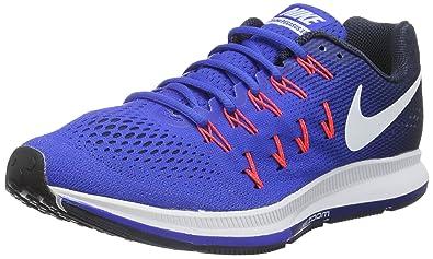 buy popular 5b810 524c7 Nike AIR Zoom Pegasus 33 - Trainers, Men, Blue - (Racer Blue