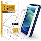 Arae Screen Protector for iPhone 12 Mini, HD Tempered Glass Anti Scratch Work with Most Case, 5.4 inch, 3 Pack