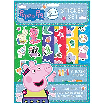Peppa Pig PESST3 Sticker Set, Multi: Toys & Games
