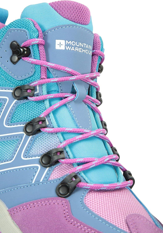 Mountain Warehouse Oscar Kids Hiking Boots for Girls /& Boys