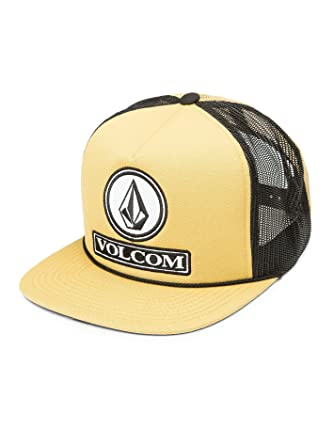409af61f1fdb8 Amazon.com  Volcom Men s Dually Cheese Five Panel Trucker Hat  Clothing