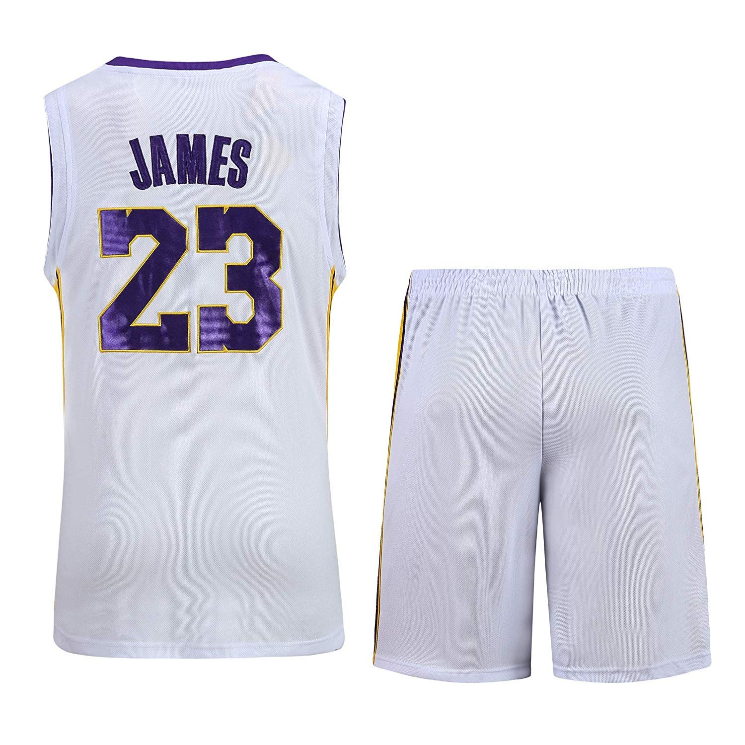AFDLT AFDLT AFDLT NBA Lakers-Trikot Nr. 23 James Basketball-Trainingsanzug FüR MäNner B07PS55C4F Herren Viele Stile 3aa1e4