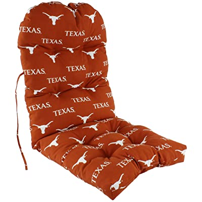 College Covers Texas Longhorns Adirondack Chair Cushion, One Size, Team Colors: Home & Kitchen
