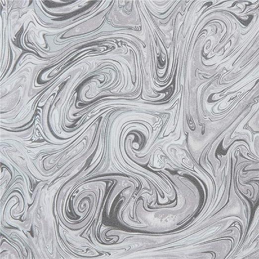 tela gris de algodón con estampado al agua: Amazon.es: Amazon.es